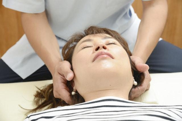 頸椎への施術